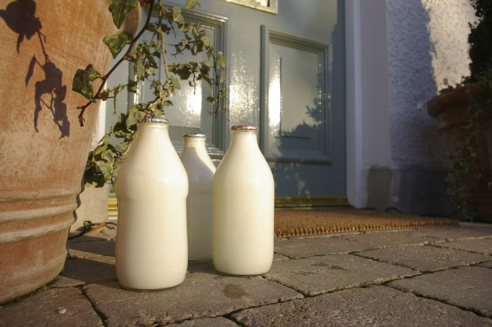 Milk delivered to your door