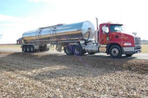 ETW hauling truck